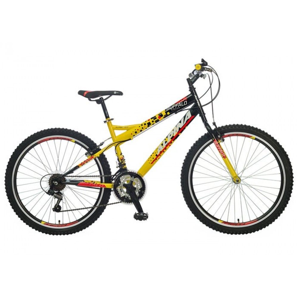 "ALPINA BUFFALO 26""  YELLOW BLACK"