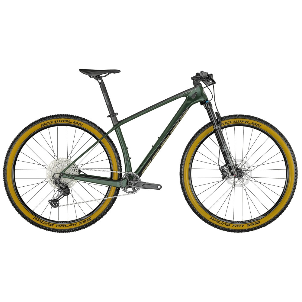 SCOTT SCALE 930 CARBON WAKAME GREEN